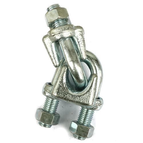 钢丝绳卡扣型�_重型钢丝绳固定卡-泰州市华鑫吊索具有限公司